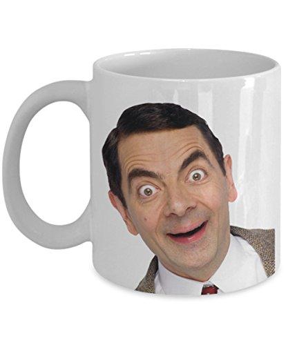 Mr.Bean Coffee Mug - Cute Style Ceramic Mugs - Creative Morning Mug Milk Coffee Tea ()