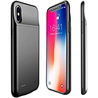 Proker 3200mAH Battery Case for iPhone X (Black)