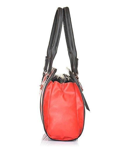 Red Bag fsb Fostelo Luciana Women's 897 Shoulder qIpzP6zw