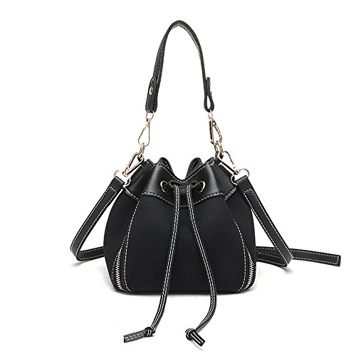 Meaeo Bolso Messenger Shoulder Wild Diagonal Bag Negro Black