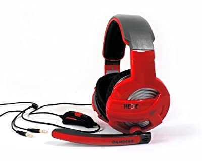 GAMDIAS Hebe V1 GHS2300 3.5mm Gaming Headset, Smart In-Line Remote, Rotating Microphone Boom