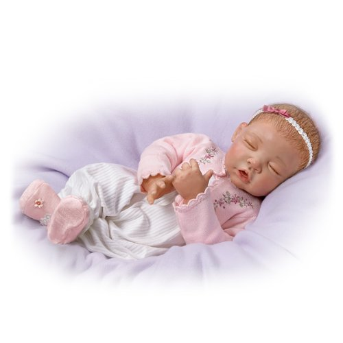 Baby Doll: Sweet Dreams, Little Ava So Truly Real by The Ashton-Drake Galleries by The Ashton-Drake Galleries (Image #2)