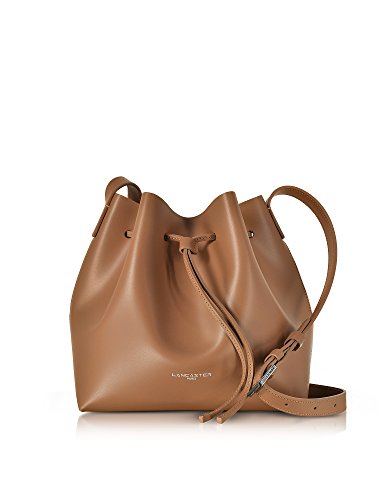 lancaster-paris-womens-42310noisette-brown-leather-shoulder-bag