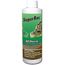 SuperBac All Natural Terrarium Dechlorinator, 8-Ounce