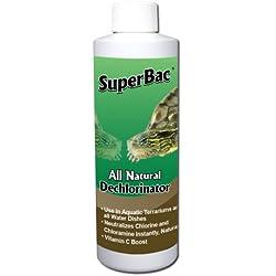 SuperBac All Natural Terrarium Dechlorinator, 8-Ounce