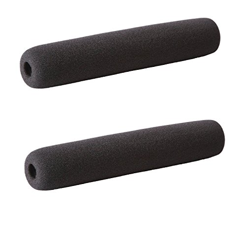 (Movo F24 Foam Windscreen for Shotgun Microphones for up 24cm including the AKG CK 98, 460, SE300, Audio-Technica AT8035, Azden SGM-2X & Shure VP89 (2 PACK))