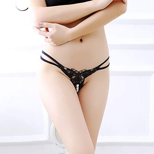 String G Noir String Sexy sous Pendentif Femme Basse vêtements ◕‿◕LianMengMVP Culotte Perle Culotte Taille wtnIafqOq