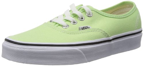 Vans Unisex Authentic Paradise Green/True White Skate Shoe 4 Men US / 5.5 Women US