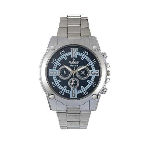 LUCAMOREMens Business Casual Elegant Chronograph Sports Watch with Stainless Steel Band Multi-Function Watch ()