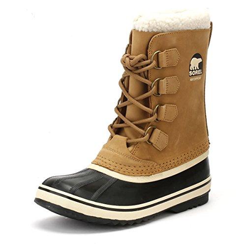1964 Pac Boot (Sorel Women's 1964 Pac 2 Waterproof Winter Boot Brn/Blk 8 M US)
