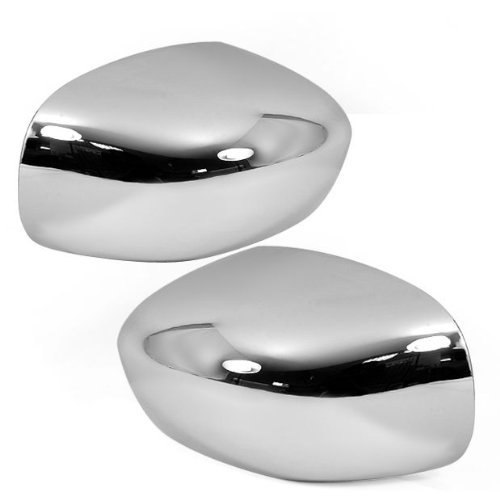 Chrome Mirror Cover Set
