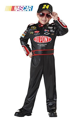 [POPLife NASCAR Jeff Gordon Racer Child Costume] (Nascar Racer Costume)