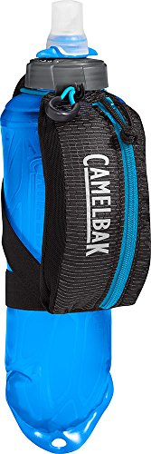 CamelBak Nano Handheld 17 OZ Quick Stow Flask, Black/Atomic Blue