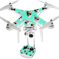 Skin For DJI Phantom 3 Professional – Cool Corgi | MightySkins Protective, Durable, and Unique Vinyl Decal wrap cover | Easy To Apply, Remove, and Change Styles | Made in the USA
