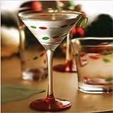Christmas Jewels Martini Glasses Set of 4