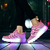 Nsasy Roller Shoes Girl Sneakers with Wheels Become