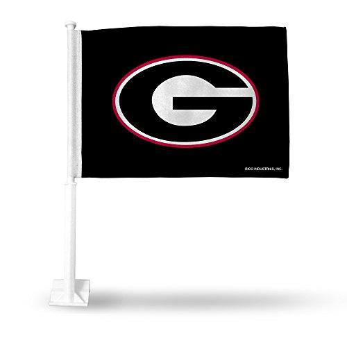 NCAA Georgia Bulldogs Car Flag by Rico