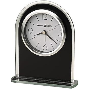 Howard Miller 645 702 Ebony Luster Table Clock By