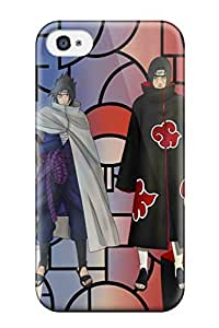 Premium Iphone 4/4s Case - Protective Skin - High Quality For Itachi And Sasuke Comparison