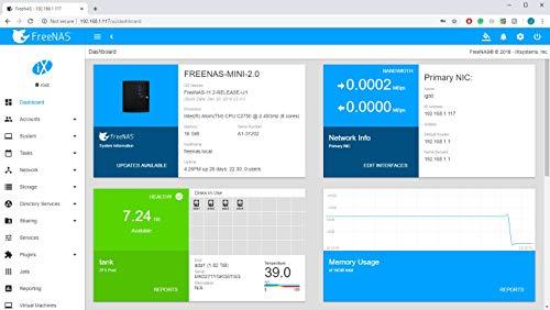 FreeNAS Mini XL (Diskless) - Network Attached Storage