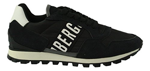 Fend Bikkembergs Black Sneaker a Basso Er 947 Uomo Collo Nero BwTqTx