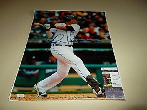 Victor Martinez V-Mart Hand Autographed Signed 16x20 Picture - JSA Certified #K06028 Detroit Tigers - Signed MLB Baseball Pictures