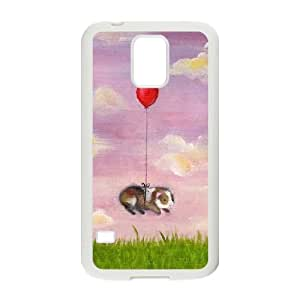 ZK-SXH - hot air balloon Diy Cell Phone Case for SamSung Galaxy S5 I9600, hot air balloon Personalized Case