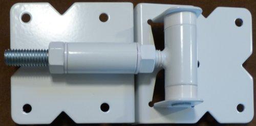Vinyl Fence Hardware Single Gate Kit White Vinyl Gate