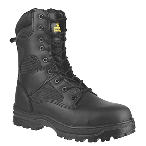 Amblers FS009C hi-leg sicurezza stivali nero taglia 8