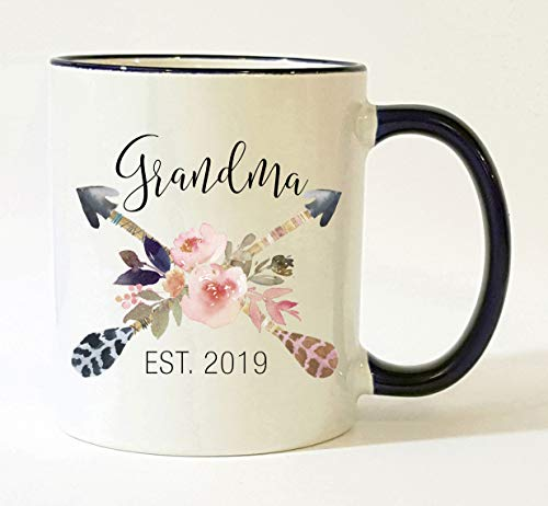 Mug Grandma - Grandma Est 2019 Mug/Pregnancy Announcement 2019 / New Grandma Mug