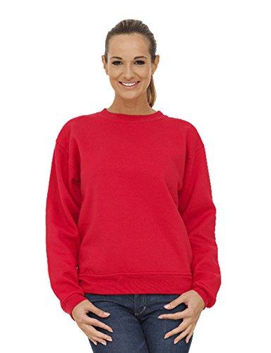 28 8 nbsp;à Lumière 247 Unisexe shirt Coupe Sweat Femmes Taille nbsp;plus Ample clothing Rouge PqzPw4vB