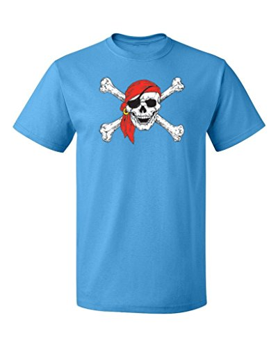P&B Pirate Skull Crossbones Party Mens T-Shirt