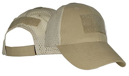Amazon.com  Eagle Crest Blank Mesh Baseball Hat With 3 Hook and Loop ... ae83aca7863c