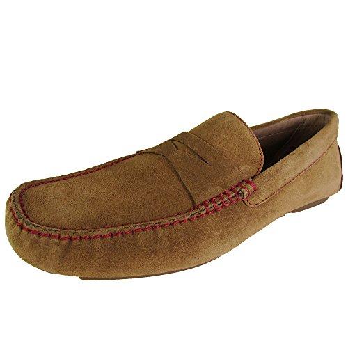 Donald J. Pliner Mens Vinco3-23 Slip On Penny Loafer Shoe...