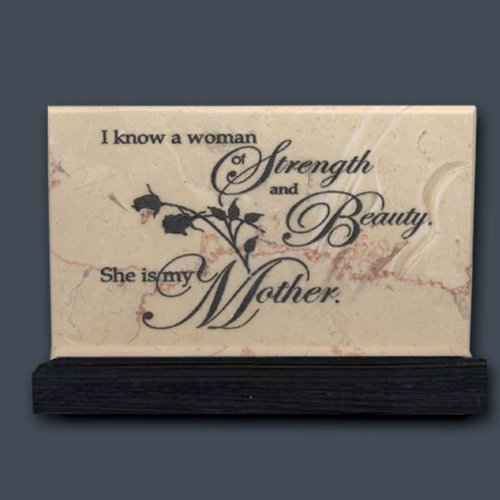 I know a woman - Prayer Stone