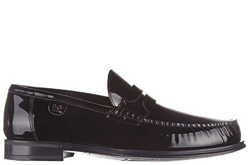 Mocassini Dolce Pelle Gabbana Uomo In Nera gExEA74wWq
