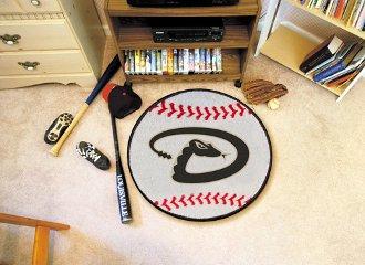 (Fanmats Arizona Diamondbacks Baseball Mat - Arizona Diamondbacks One Size )