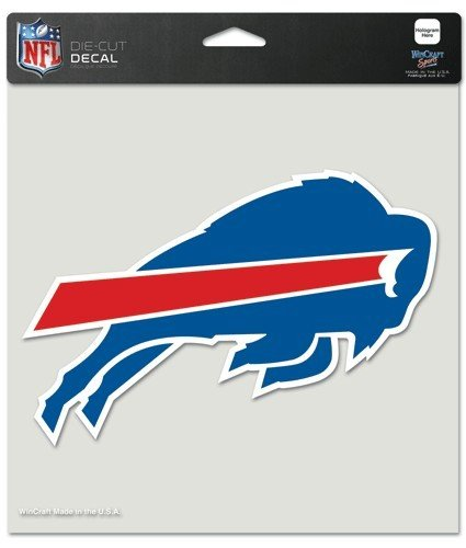 NFL Buffalo Bills Die-Cut Color Decal, 8