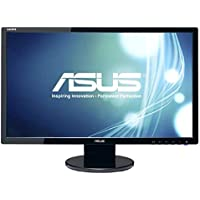 Asus Computer International - Asus Ve248h 24 Led Lcd Monitor - 16:9 - 2 Ms - Adjustable Display Angle - 1920 X 1080 - 16.7 Million Colors - 250 Nit - 10,000,000:1 - Full Hd - Speakers - Dvi - Hdmi - Vga - 34 W - Black - Energy Star, Rohs, Weee Product Category: Computer Displays/Monitors