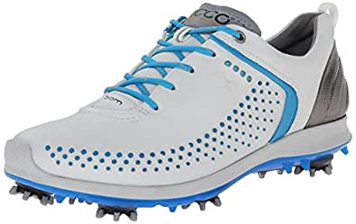 ECCO Women's Biom G2 Golf Shoe,White/Danube,36 EU/5-5.5 M US