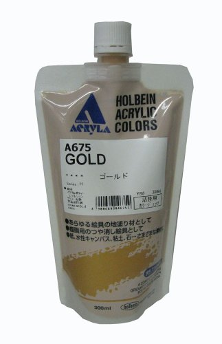 Holbein Color Gesso Gold 300ml ()