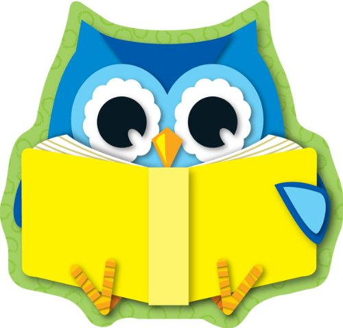 Carson Dellosa Reading Owl Cut-Outs (120134)]()