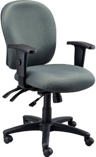 Eurotech FM4087-FAB Racer Mid-Back Multifunction Fabrix Task Chair