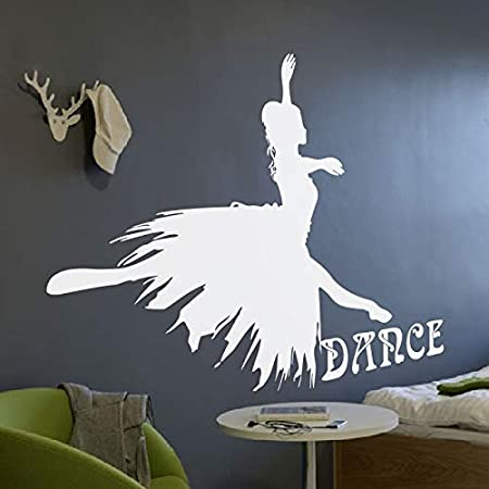 jiuyaomai Dance Wall Decal Ballet Girl Dacing Quote Dance ...