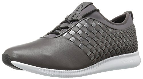 Cole Haan Women's Studiogrand Wv Tr Fashion Sneaker Pvmt/Dk Slvr/Wh O3amSi4UOa
