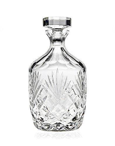 - Godinger Berkshire Whiskey Decanter, Lead Free Crystal - 36oz