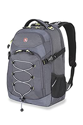 Swiss Gear SA5960 Gray Laptop Backpack - Fits Most 15 Inch Laptops and Tablets by group III