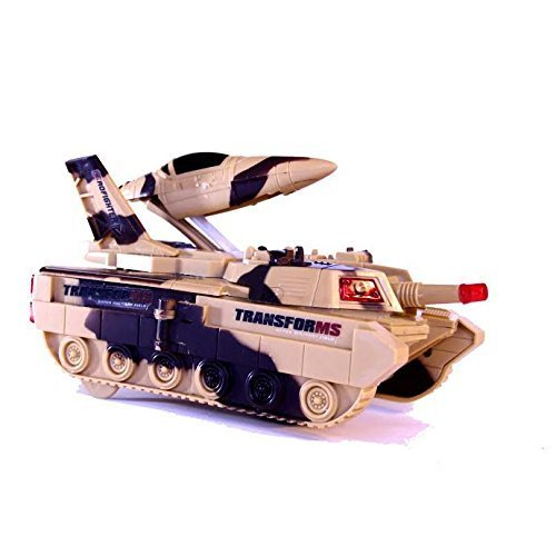Dazzling Toys Frightening Military Tank With Missile (D282)
