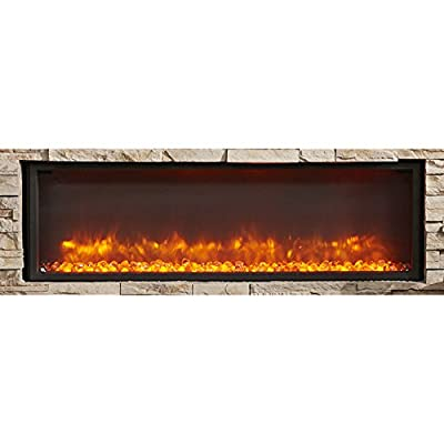 """Outdoor Great Room GBL-44 Built-In Linear Electric Fireplace, 44"""""""