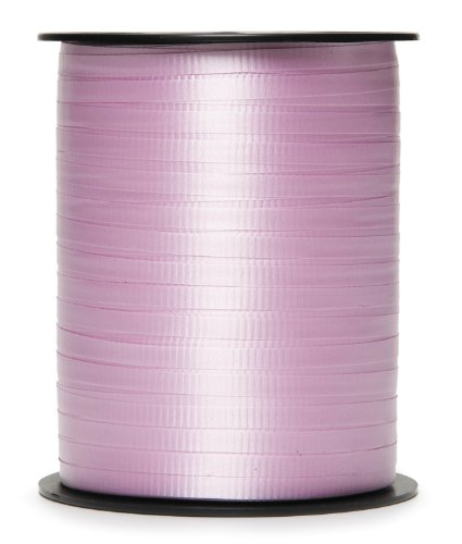 Darice 2916-27 500-Yard Curly Ribbon, 5mm, Pink